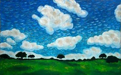 Life of a Tree: Alentejo I: Clouds (far horizon)