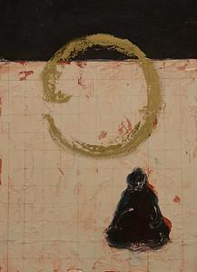 Buddha Contemplating Near Horizon