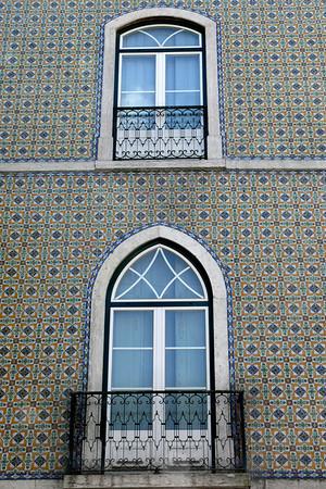 Lisboa, uma parede de azulejos (Lisbon, a tiled wall)