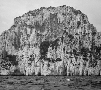 Cliff on the Calanque
