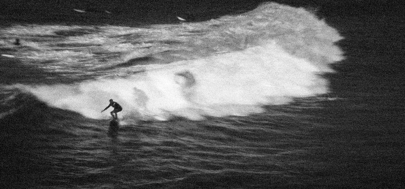 Surfer, Down the Line