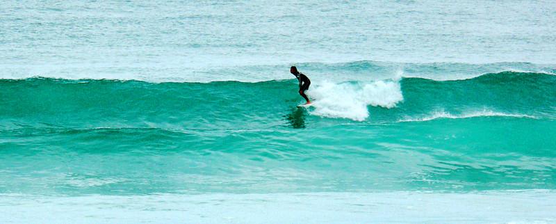 Surfing, La Costa Verde, la Primavera