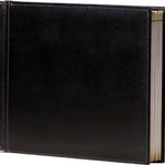 11x8.5 Padded Leather Photo Books - Designed by Jodi  Elegant bonded leather is padded for a luxurious look and feel. Choose black or sienna with contrast stitching for a rich presentation.       Cover:Padded Leather Colors:Black, Tan Binding:Side stitch Base price:$280 for 20 pages Add'l pages:$2 per page Max pages:80