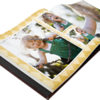 <b><font size=4><u>11x8.5 Padded Leather Photo Books - Open</b></u><font size=3>  Elegant bonded leather is padded for a luxurious look and feel. Choose black or sienna with contrast stitching for a rich presentation.