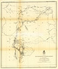 1874 Custer Expedition map (produced for 1875 report). Original size is approx. 21.5x25 inches. This one shows the route from Ft. Lincoln, through the Black Hills, and the return.