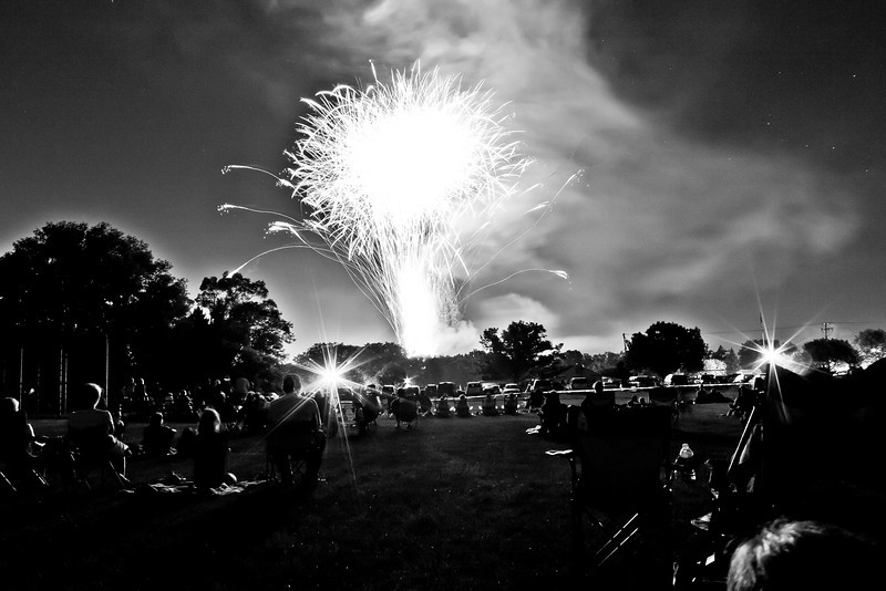 Independence Day Fireworks in Rockford, IL