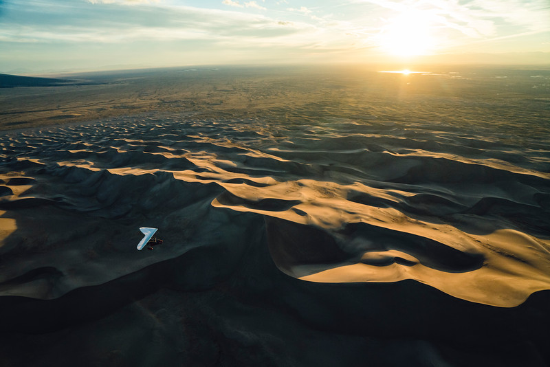 CineTrike shoot NPS Sanddunes with Chris Burkard and Chris Dahl-Bredine