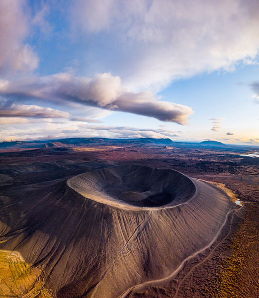 Eye of the volcano