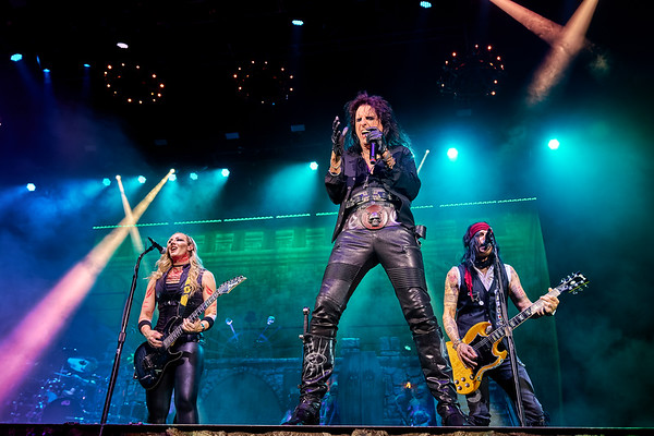 Captured during the ALICE COOPER performance at iTHINk Financial Amphitheater, West Palm Beach, Florida (October 10, 2021)