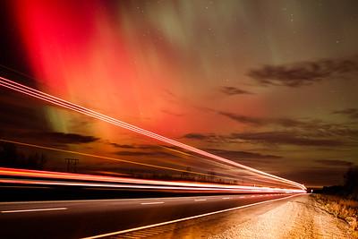 Nothern Lights over Nova Scotia