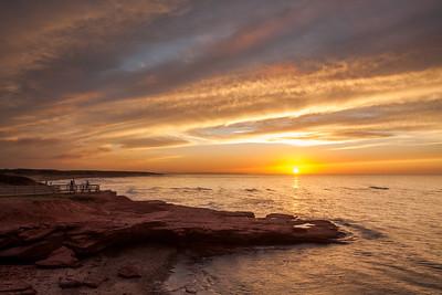 Cavendish Beach Sunset, PE
