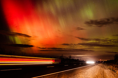 Nothern Lights over Nova Scotia