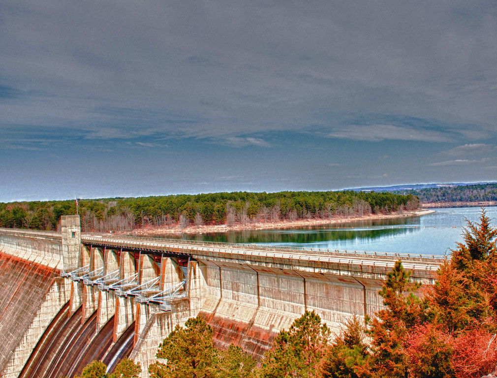 Greers Ferry Dam and Lake  - on the Little Red River