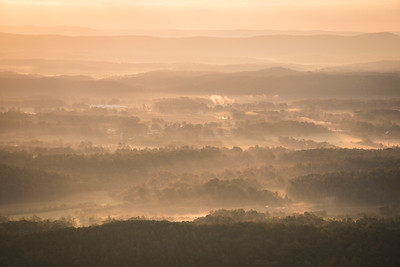 First Light on the Valley