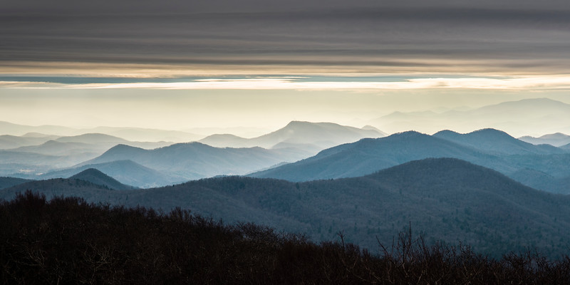 Across the Blue Ridge