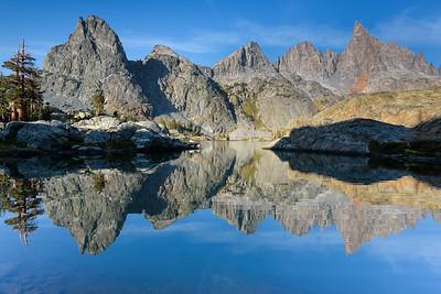 Minaret Lake Reflections