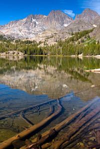Shadow Lake Morning Reflections Three