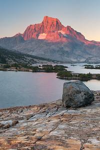 Thousand Island Lake Mountain Light