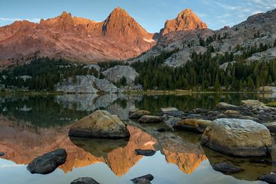 Lake Ediza Reflections