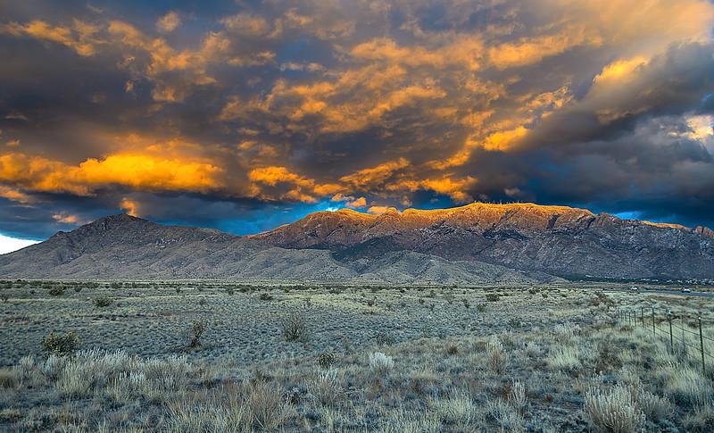 Sandia Sunset Clouds