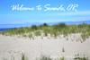 Welcome to Seaside, Oregon Postcard