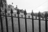 Wrought Iron Fence near Edinburgh Castle, Edinburgh, Scotland