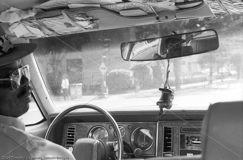 New Orleans taxi driver