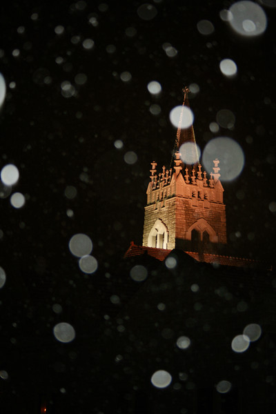 Church in Snowfall
