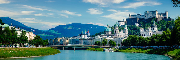 """""""Sitting by the River in Salzburg"""""""