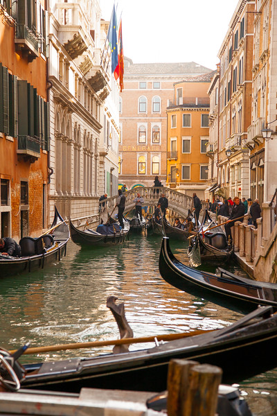 Gondola's on the Canal