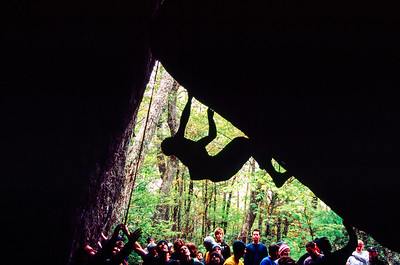 Triple Crown Bouldering Competition, Hound Ears, Boone, North Carolina