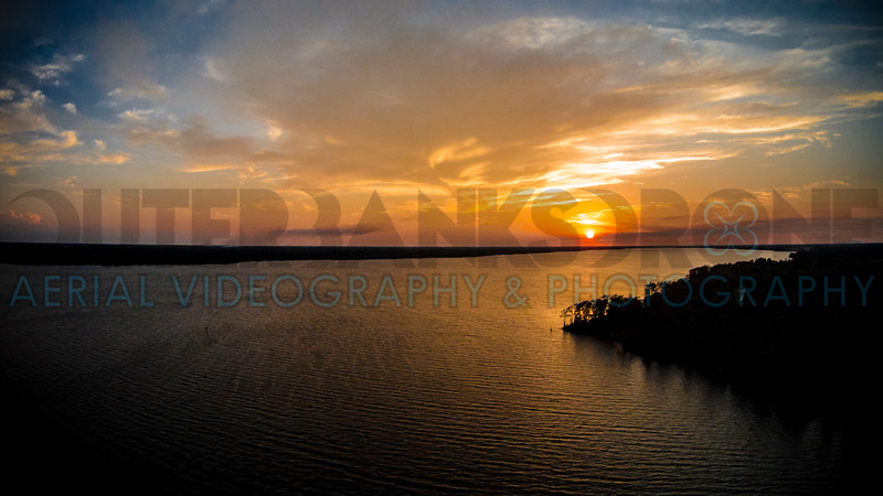 Perquimans River Sunset 01