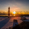 Bodie Island Lighthouse Snow 04