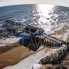 Kitty Hawk Pier Snow 02