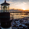 Bodie Island Lighthouse Snow 02