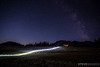 Sol Mountain Lodge Singletrack at Night