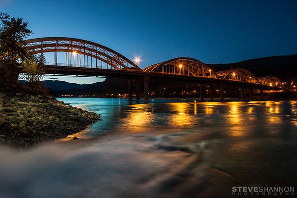 Bridge over the Columbia River, Trail, BC