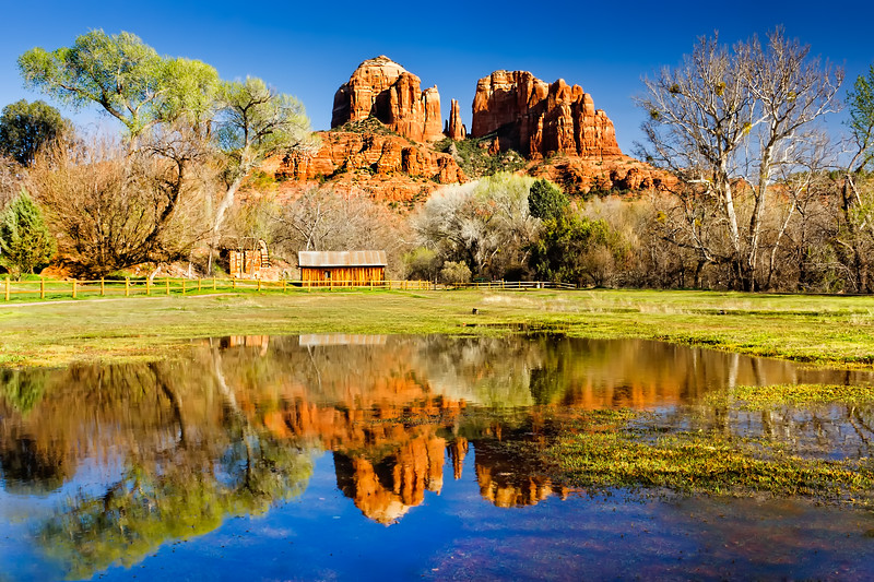 Cathedral Rock in Sedona  (DE1001)