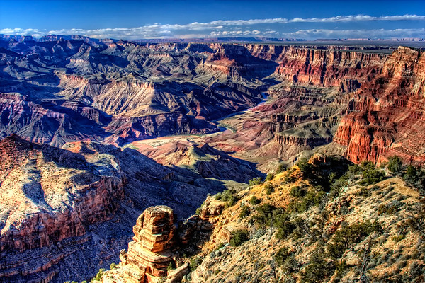 Grand Canyon from Desert View Point  (DE1002)