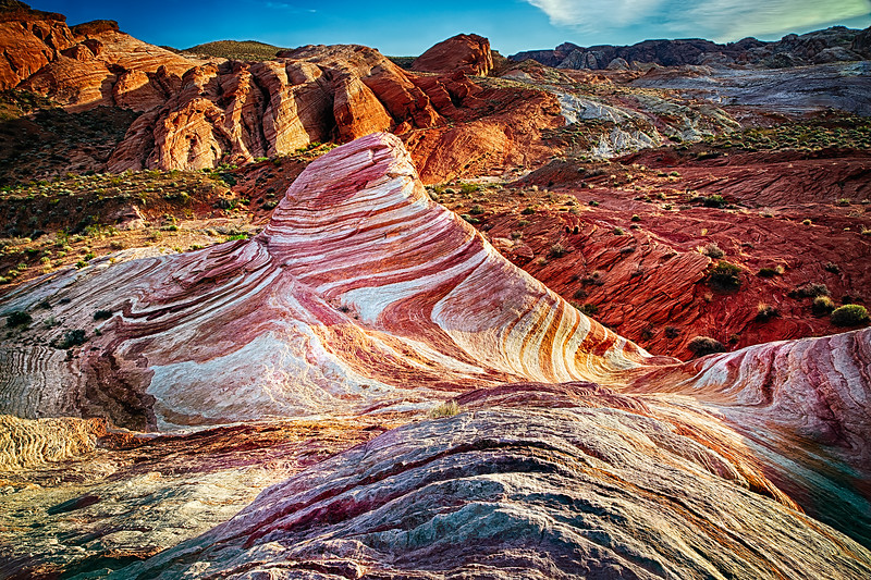 The Fire Wave at the Valley of Fire State Park  (DE1302)