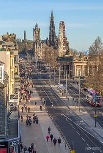Princes Street, Looking East