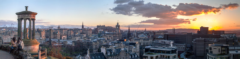 City of Edinburgh Panorama
