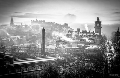 Edinburgh Winter Scene
