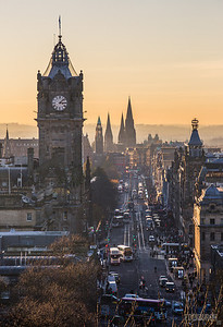 Princes Street View from Calton Hill - Edinburgh