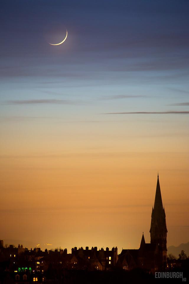 The Moon Over Newington