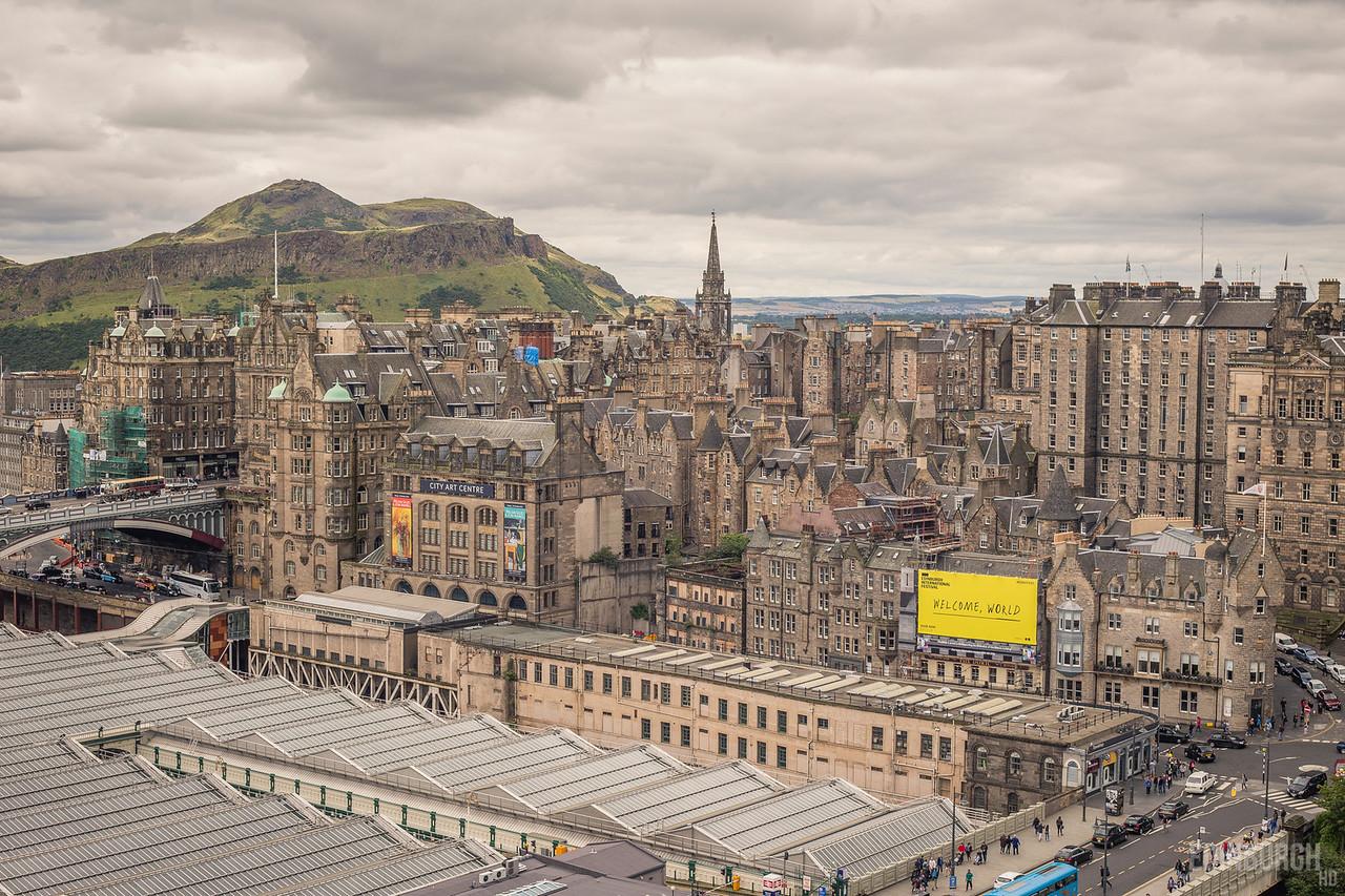 Old Town Edinburgh & Arthur's Seat