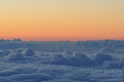 Sunset from Mauna Kea Observatory