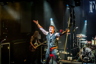 Captured during the FOZZY performance at Culture Room, Fort Lauderdale, Florida (September 29th, 2018)