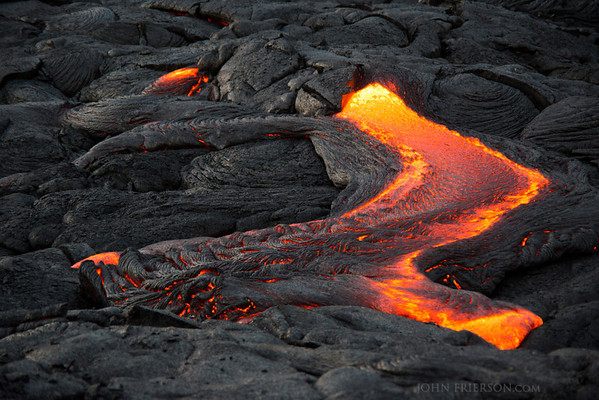Hawaii Lava Flow