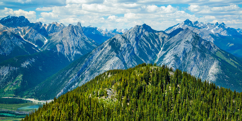 View from Sulpher Mountain, Banff